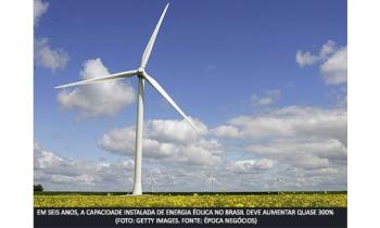 Energias limpas crescem no Brasil
